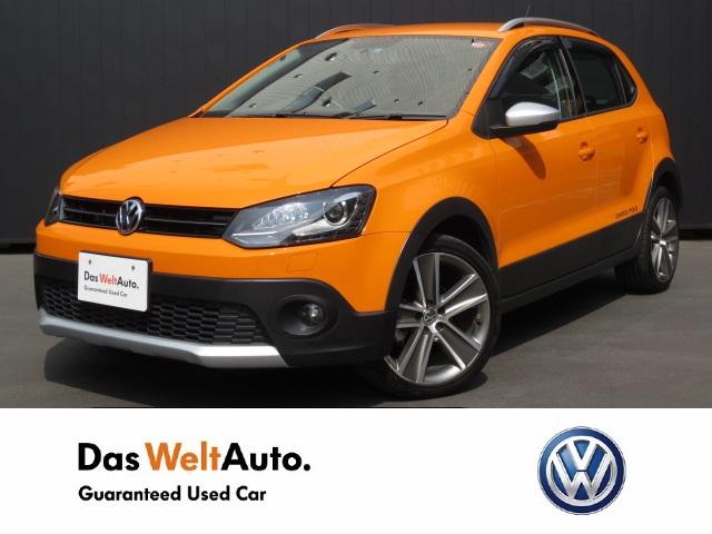 【Das WeltAuto】フォルクスワーゲン認定中古車: CrossPolo SDnavi ETC オレンジ系 2013年 17,800km 1,480,000円
