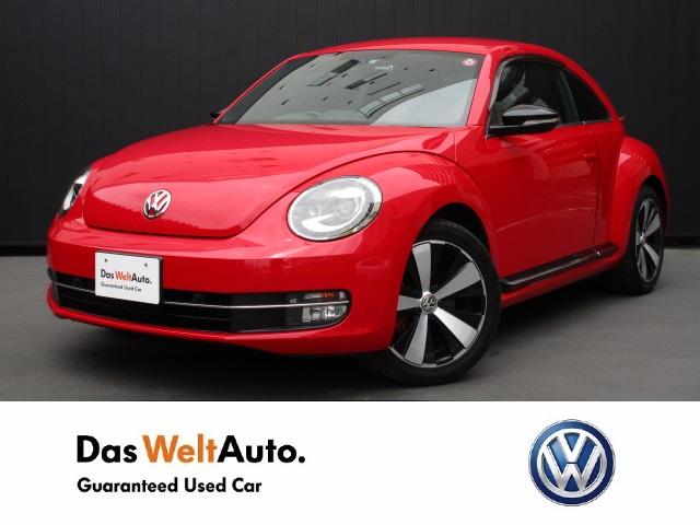 【Das WeltAuto】フォルクスワーゲン認定中古車: The Beetle Turbo 712SDCW レッド系 2013年 11,800km 2,520,000円