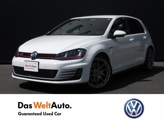 【Das WeltAuto】フォルクスワーゲン認定中古車: Golf GTI Performance DiscoverPro ホワイト系 2015年 12,000km 3,580,000円
