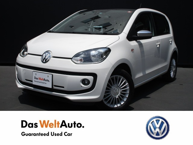 【Das WeltAuto】フォルクスワーゲン認定中古車: up! high up! 4Door ホワイト系 2013年 32,400km 1,080,000円